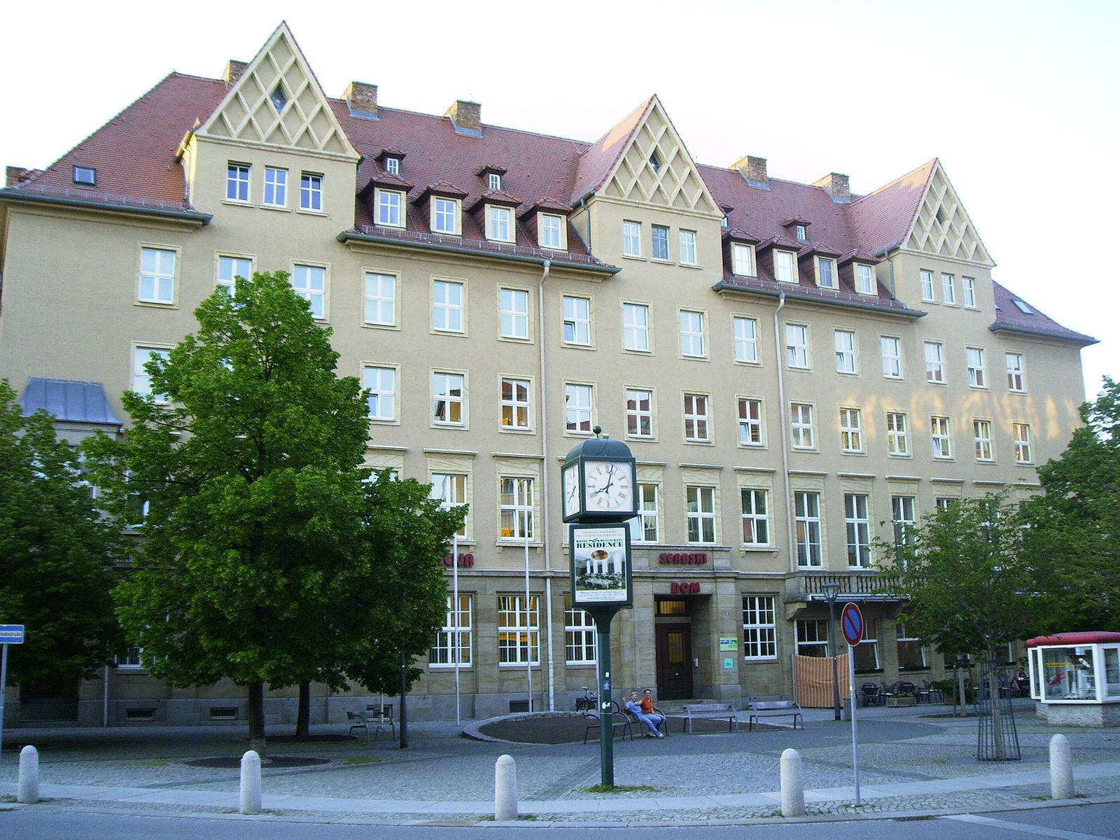 """Das """"Haus der Sorben"""" am Postplatz in Bautzen"""