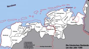 Friesische Seelande um 1300