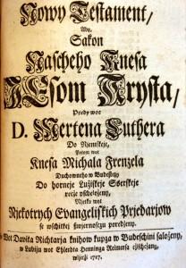 Sorbische Bibelübersetzung