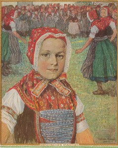 William Krause Wendisches Mädchen 1912