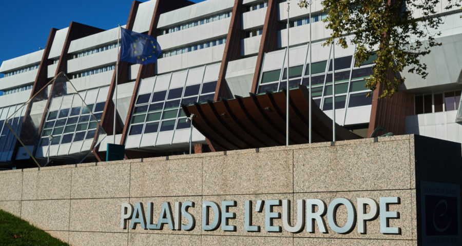 Europarat, Palais de l'Europe