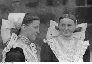 Sorbinnen in Bautzen 1950